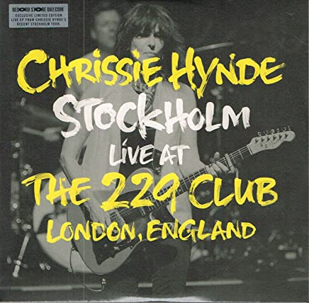 Chrissie Hynde - Stockholm  Live At The 229 Club London, England 2014 [10'] (White Vinyl, indie-retail exclusive)