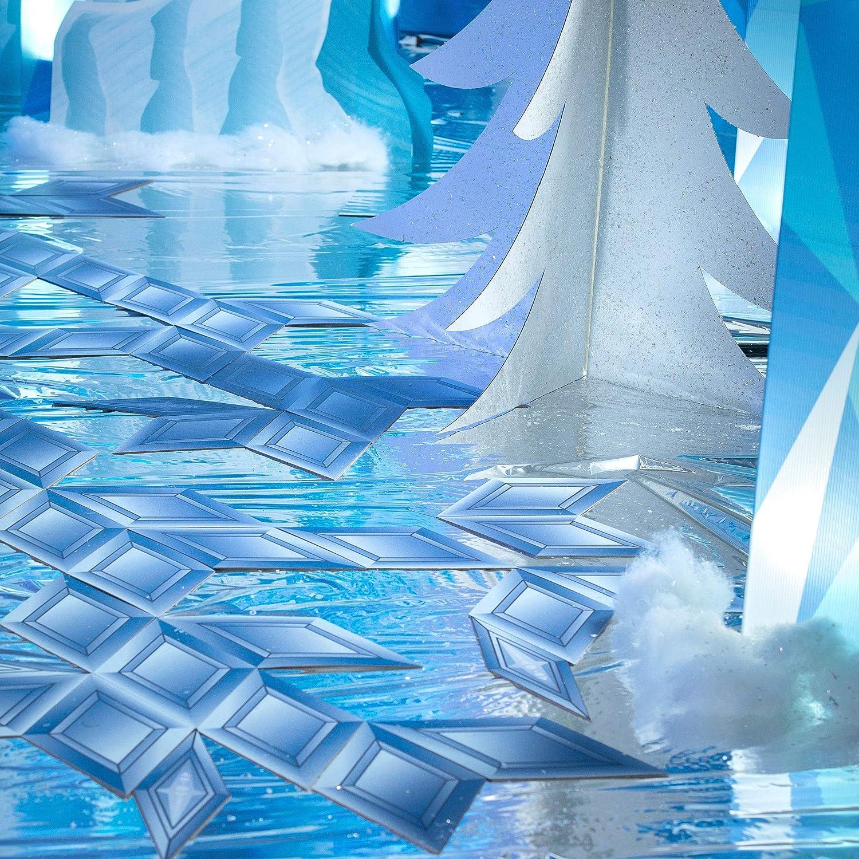 Shindigz 1 ft. Baltimore Max 42% OFF Mall 4 in. Winter Frozen Fantasy Snowflake Pavers Walk