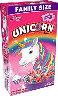 Kellogg's Unicorn Magic Cupcake Breakfast Cereal, 18.7 Ounce