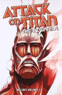 Attack on Titan: The Beginning Box Set (Volumes 1-4)