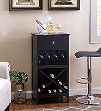 2L Lifestyle Paxton Bar Wine Cabinet, Large, Espresso