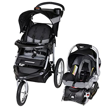 Baby Trend Expedition Jogger Travel System, Millennium White: image