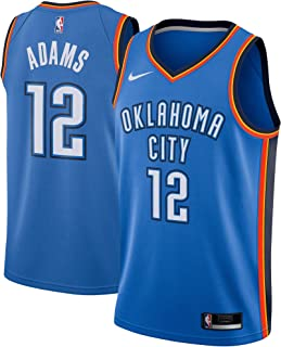 Nike Steven Adams Oklahoma City Thunder NBA Youth 8-20 Blue Road Icon Edition Player Jersey