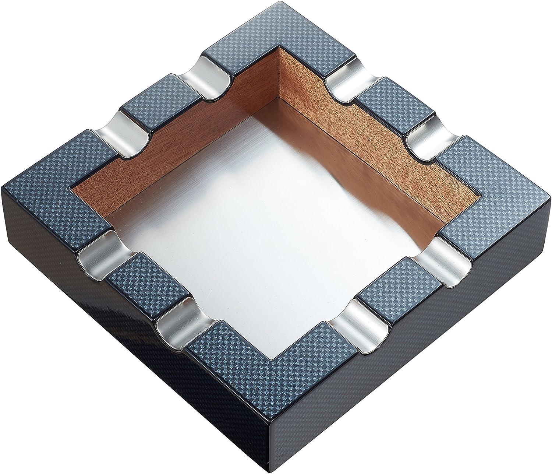 Visol Braeden Carbon Fiber Ashtray Pattern Topics on Max 70% OFF TV Cigar