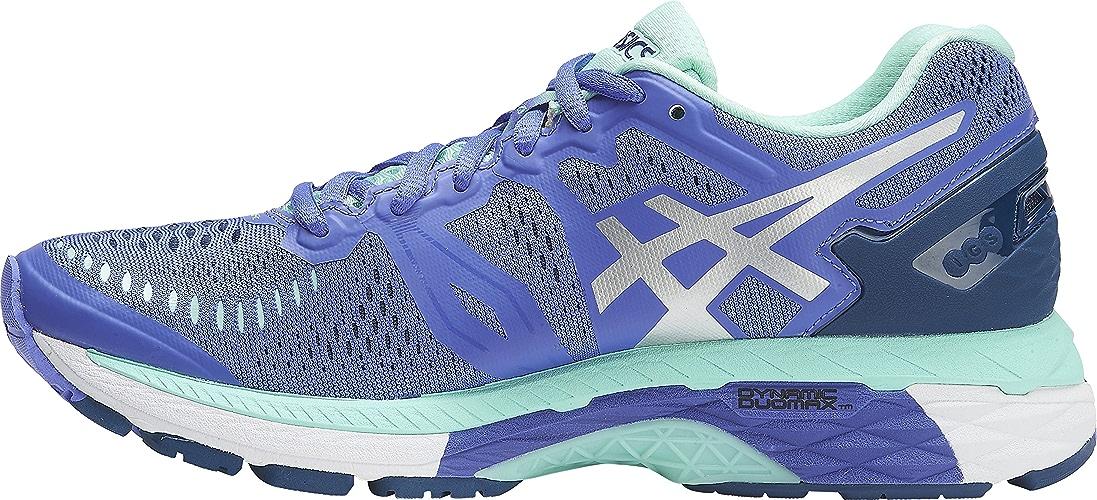 ASICS femmes Gel-Kayano 23 Running chaussures, violet argent Mint, 8 B(M) US