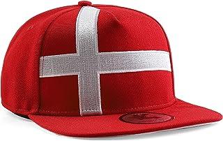 Underground Kulture Denmark Red Snapback Baseball Cap