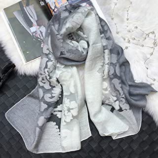 K-Eleven ファッション スカーフ ストール レディース ショール オーガンザ 大判 薄手 マフラー 冷房対策 日焼け止め UVカット 花柄 お洒落