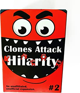 Apostrophe Games Clones Attack Hilarity #2, 150 Card Expansion Pack