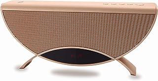 Conceptronic APOLLYON01GL 10 W Oro - Altavoces portátiles (10 W, 60-18000 Hz, 95 dB, 0,5%, Inalámbrico y alámbrico, MicroUSB)