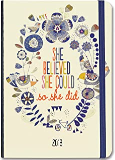 2018 She Believed She Could Weekly Planner (16-Month Engagement Calendar)