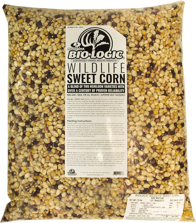 BioLogic Sweet 2021 spring and summer new Corn Non-GMO 1 Acre El Paso Mall Plants 8544