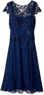 emma street illusion lace mock 2 piece dress