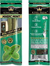 King Palm Flavors Slim Size Cones - 1 Pack, 2 Rolls - Terpene Infused - Squeeze & Pop Pre Rolls - Organic Flavored Pre Rol...