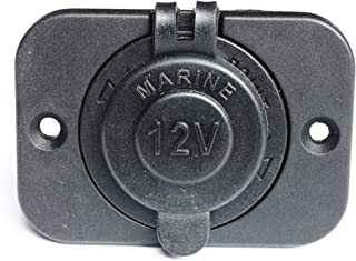featured product BANDC Waterproof Marine Motorcycle Cigarette Lighter Socket Power Outlet 12v Rear Panel