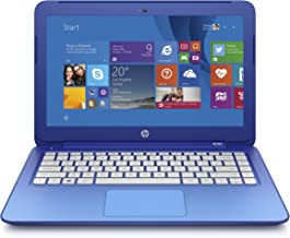 (Discontinued) HP Stream 13.3 Inch Laptop (Intel Celeron, 2 GB, 32 GB SSD, Horizon Blue) Includes Office 365 Personal for One Year