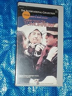 Make Room for Tomorrow Au bout du bout du banc  VHS