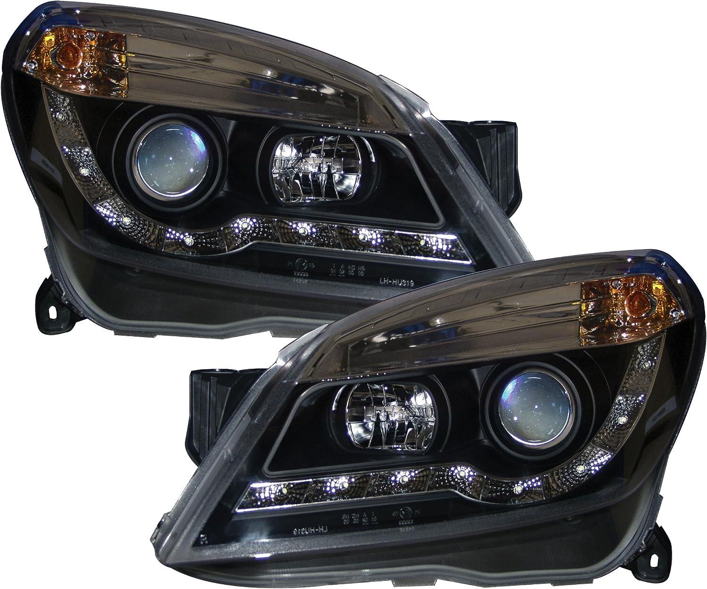 AUTOart V-AST5-5101 Black R8 Drl Style Headlights New
