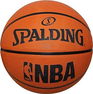 Spalding NBA Rubber Outdoor Basketball Fun Team Ball Orange