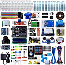 Smraza Ultimate Starter Kit for Arduino UNO R3 Project with Tutorial, 200pcs Components Compatible with Arduino UNO Mega2560 (67 Items)