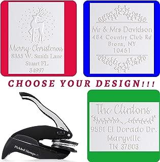 Choose Design! Embosser Custom Monogram Address Embosser Stamp Personalized Customized Monogram Wedding Invitations 1 x 5/8