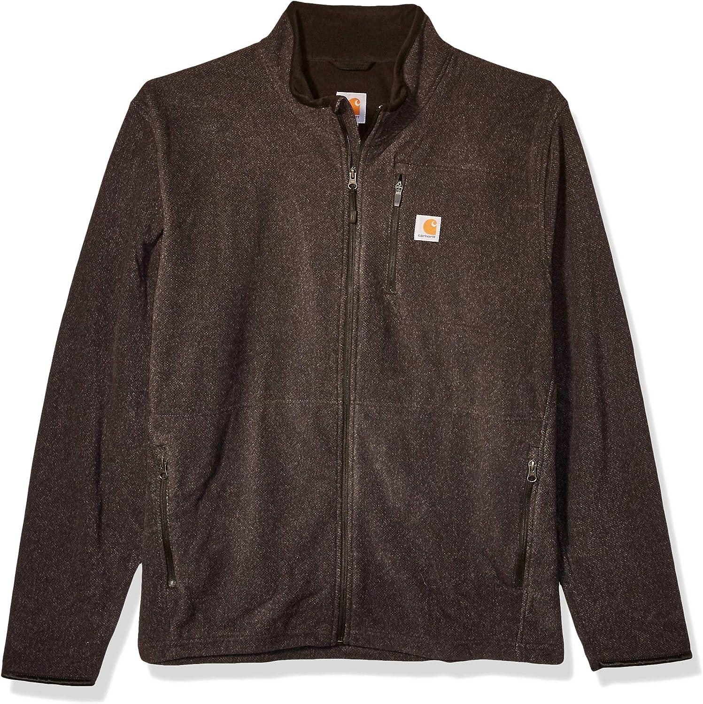 Carhartt Men's Dalton Full Zip Fleece (Regular and Big & Tall Sizes)