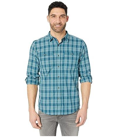 Royal Robbins Vista Dry Plaid Long Sleeve Shirt (Turkish Tile) Men