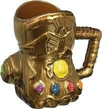 Vandor 26181 Marvel Infinity Wars Gauntlet Shaped Ceramic Soup Coffee Mug Cup, 20 Ounce