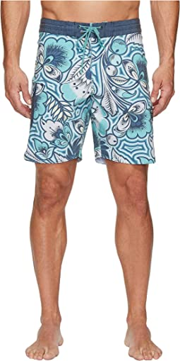 Mongo Four-Way Stretch Boardshorts 18.5""