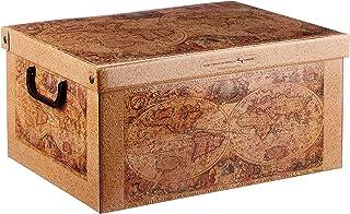 Kanguru BAULETTO Marco Polo dekoracyjne pudełko do przechowywania z uchwytami i pokrywką, rozmiar M
