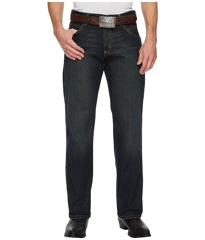 Wrangler  Retro Relaxed Straight Jeans (Worn Black) Mens Jeans