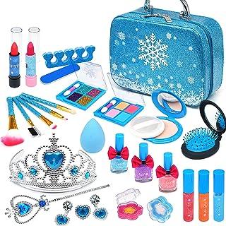 Enjoybot Kids Makeup Kit for Girl - 2021 Newest 23PCS Frozen Toys for Girls ,Real Kids Makeup Toys ,Kids Makeup Kit for Gi...