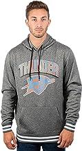 Ultra Game Men's Standard Focused Pullover Fleece Hoodie Sweatshirt, Charcoal, Large