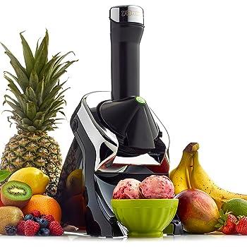 Yonanas 987 Elite Fruit Soft Serve Maker, Black