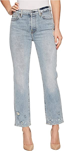 7 For All Mankind Edie w/ Bleach & Holes in Mineral Desert Springs 2