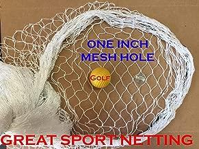 20Ft X 25Ft Fishing Net, Sport Netting for Golf Backstop, Hockey, La Crosse, Barrier, Sports, Fish