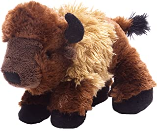 "Wild Republic Bison Plush, Stuffed Animal, Plush Toy, Gifts for Kids, Hug'Ems 7"""