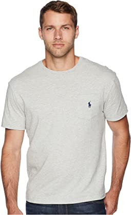 Short Sleeve Crew Neck Pocket T-Shirt
