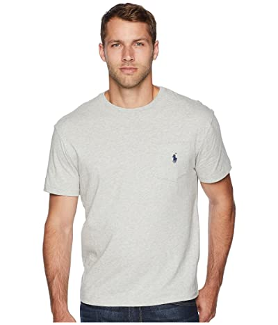 Polo Ralph Lauren Classic Fit Pocket Tee (Taylor Heather) Men