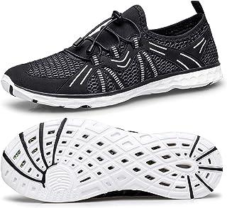 YHOON أحذية مائية سريعة الجفاف الرياضة أكوا بيتش السباحة أحذية للرجال النساء