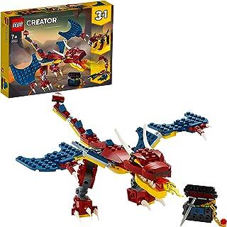 LEGO Creator - Dragón Llameante, Juguete de Construcción