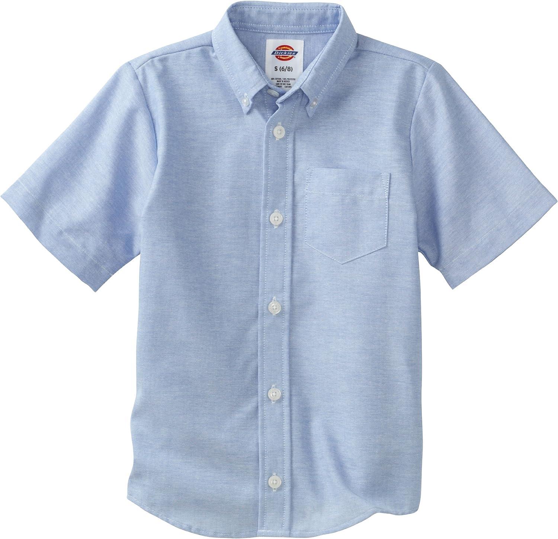 Dickies Boys' Short Sleeve Oxford Shirt
