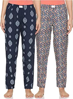 Diverse Women's Pyjama Bottom (Pack of 2) (DCWLPCMSC19L34-4_Multicolor_Large)