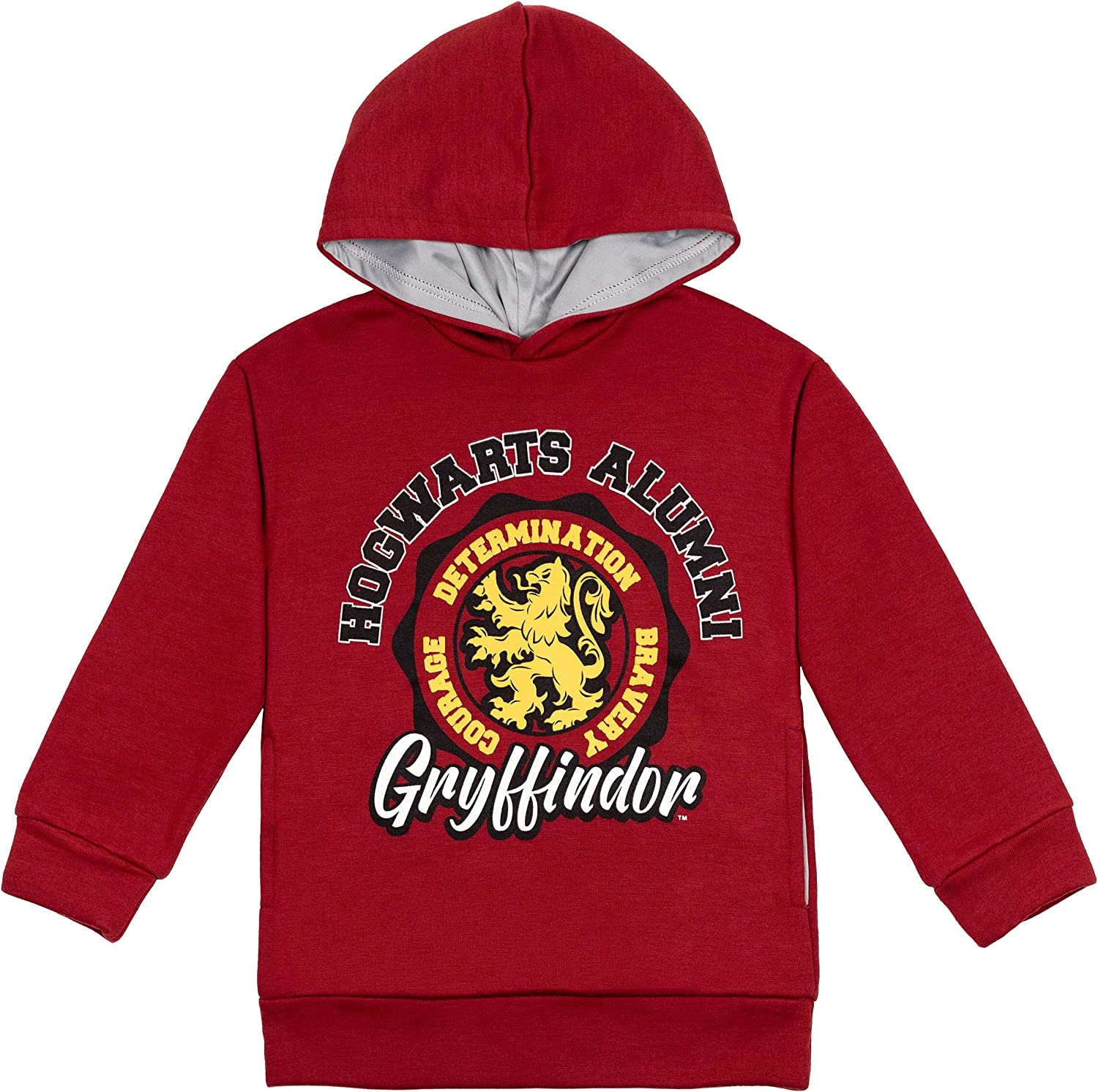Harry Potter Houses Little/Big Boys Pullover Fleece Hoodie Red: Clothing, Shoes & Jewelry