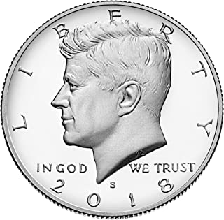 2018 S Kennedy Half Dollar 2018 S Kennedy Half Dollar Roll of 20 Coins Proof