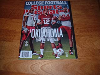 University of Oklahoma Quarterback Landry Jones on cover of Sports Illustrated, August 22, 2011 College Football Issue. Al...
