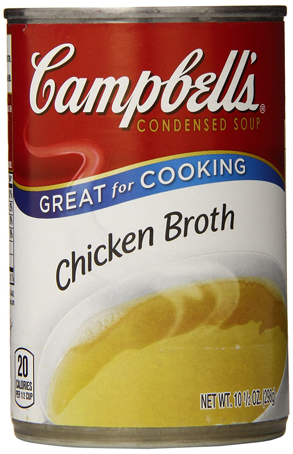 Campbell's Max 76% OFF Condensed Chicken Broth 10.5 Pack Ounce 12 Baltimore Mall of