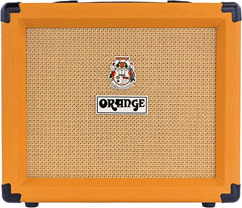 high quality Orange new arrival Crush 20 Twin-Channel 20W online sale Guitar Amplifier, Orange (Renewed) online