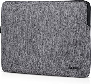 SHIELDON 13.3-Inch Laptop Sleeve Shockproof Case Compatible with 13-13.3 Inch MacBook Air Retina,MacBook Pro Retina,Surface Laptop2,Notebook Protective Water Repellent Durable Bag with Pocket - Grey