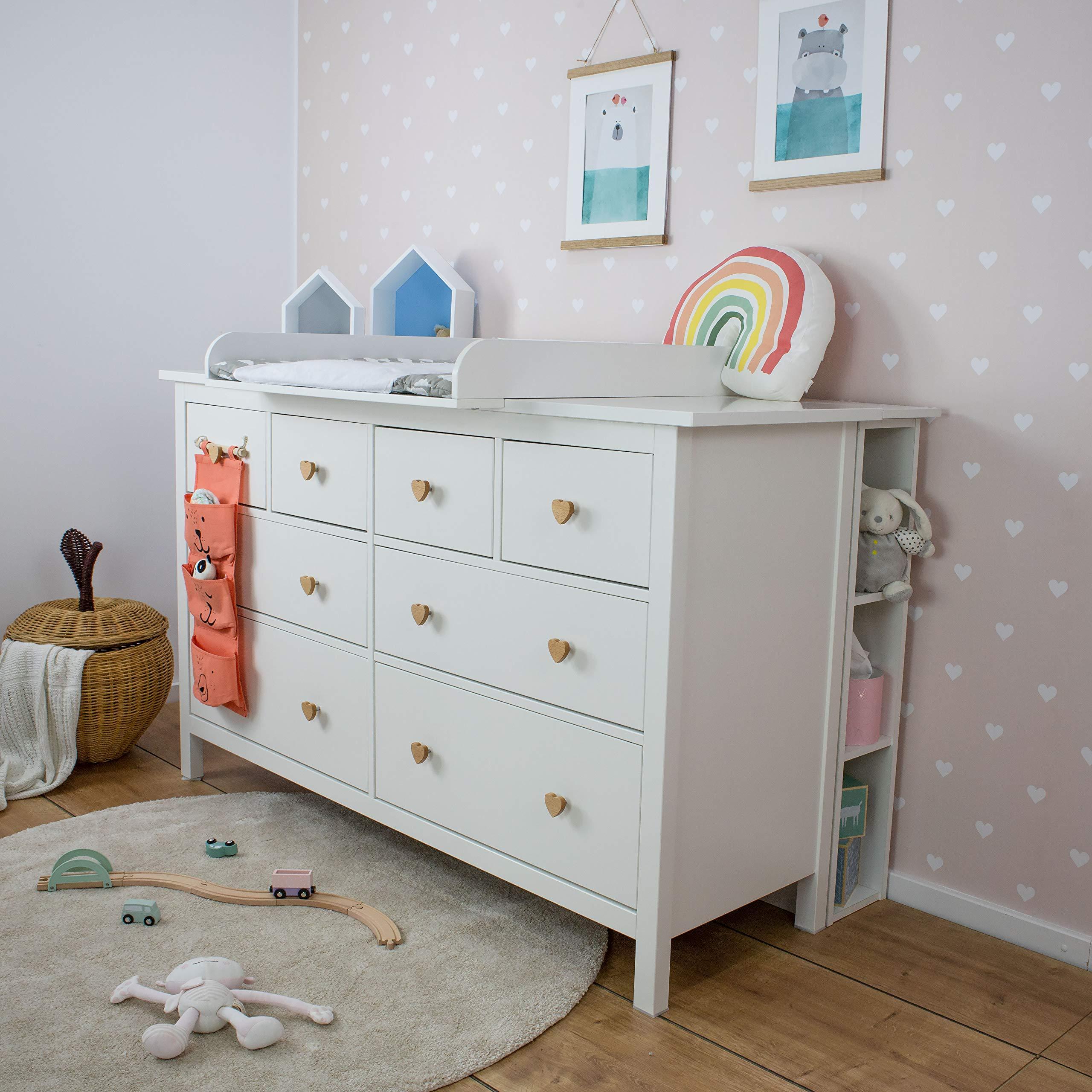 Puckdaddy La estante para IKEA Hemnes cómoda: Amazon.es: Hogar