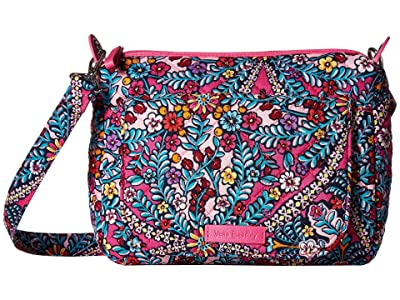 Vera Bradley Carson Mini Shoulder Bag (Kaleidoscope) Cross Body Handbags